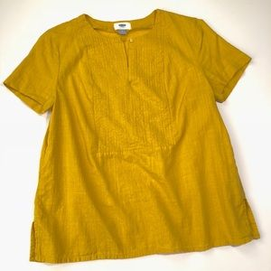 Old Navy Yellow Ochre/ Gold Top
